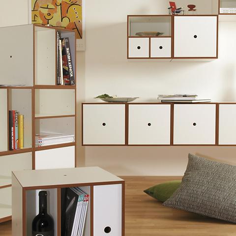 regalw rfel von cuberry mehrere w rfel als regal kombinieren. Black Bedroom Furniture Sets. Home Design Ideas